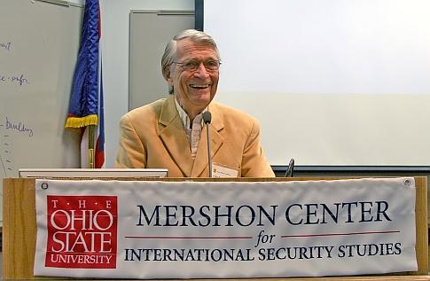 Chadwick Alger at Mershon Center