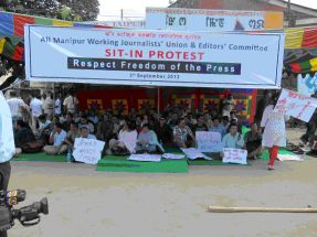 Sit-In Protest in India