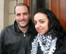 Huwaida Arraf and Adam Shapiro